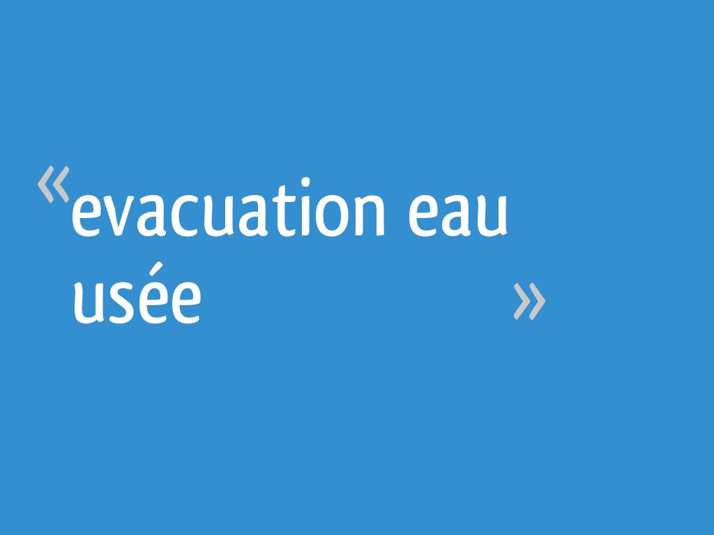 evacuation eau us e 10 messages. Black Bedroom Furniture Sets. Home Design Ideas