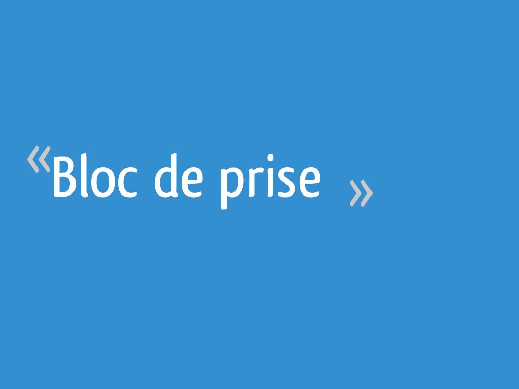 Bloc De Prise 9 Messages