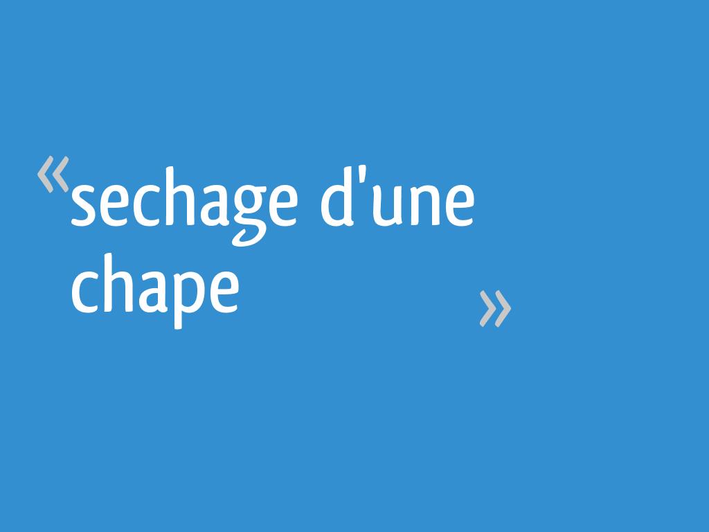 Sechage D Une Chape 25 Messages