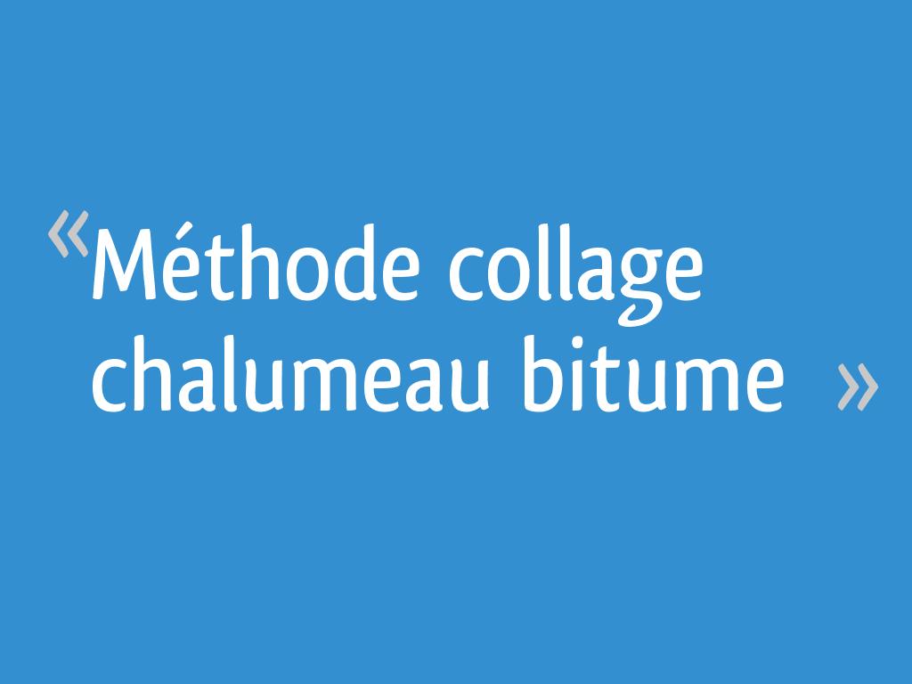 Pose Rouleau Bitume Chalumeau