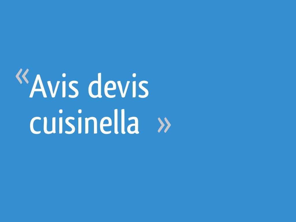 Avis devis cuisinella 52 messages - Cuisinella paris 11 ...