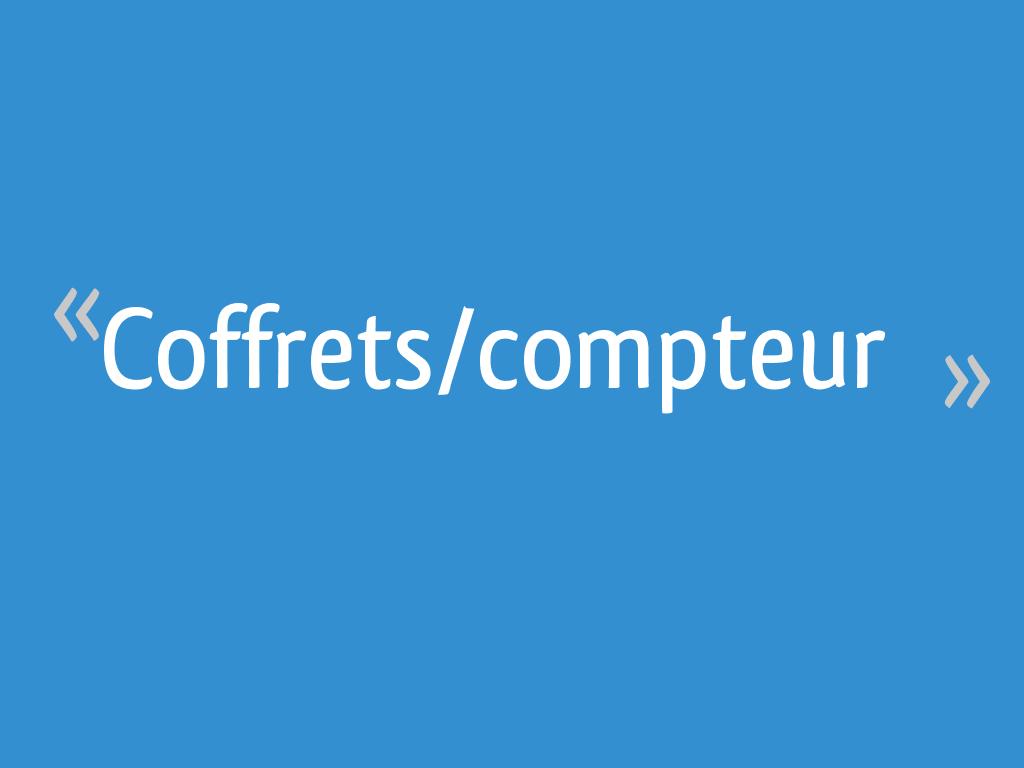 Coffretscompteur 10 Messages