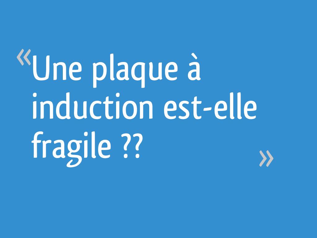 """Cuisson Induction Avantages Inconvénients une plaque à induction est-elle """"fragile"""" ?? - 31 messages"""