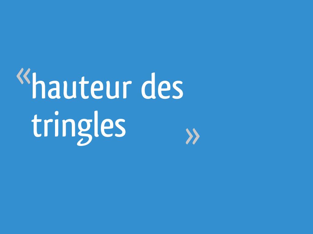 Pose De Tringle À Rideaux Au Plafond hauteur des tringles - 10 messages