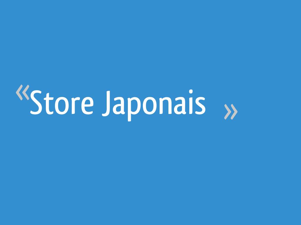 Stores Venitiens La Redoute store japonais - 24 messages