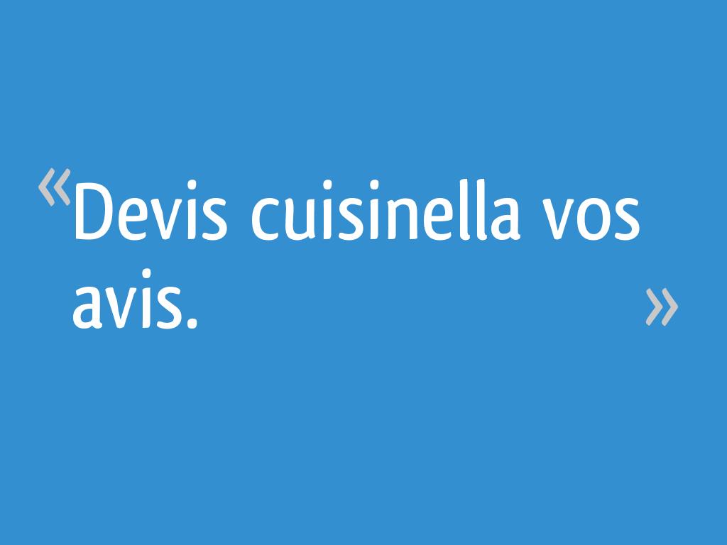 Devis cuisinella vos avis 22 messages - Forum cuisinella ...