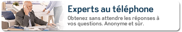 Expert par telephone