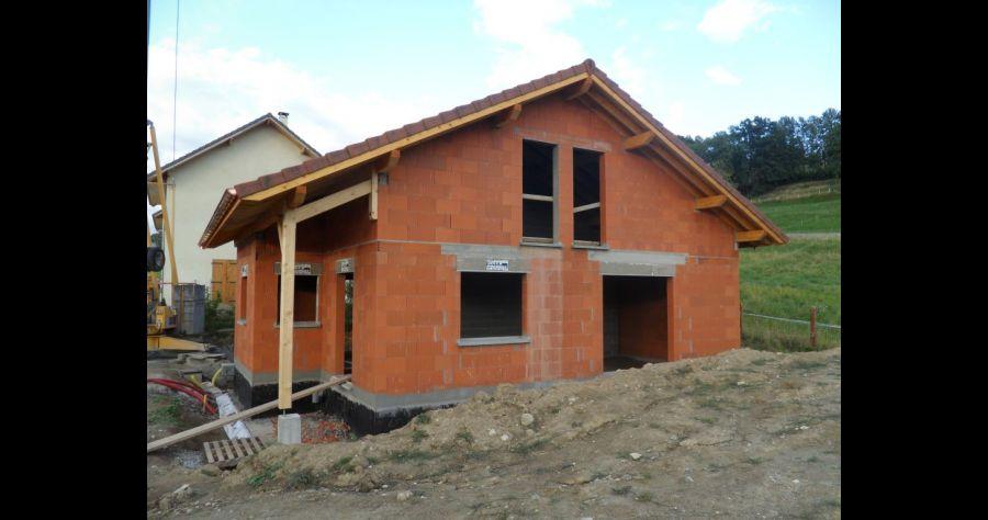 construction d 39 une petite maison en savoie savoie. Black Bedroom Furniture Sets. Home Design Ideas